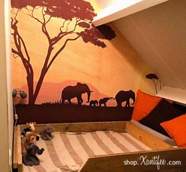 Wegdromen in de Afrikaanse savanne