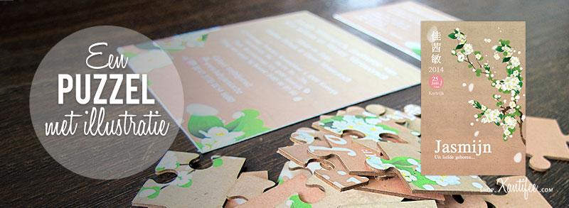Second-image-geboortekaartje-Jasmijn-bloemen-puzzel