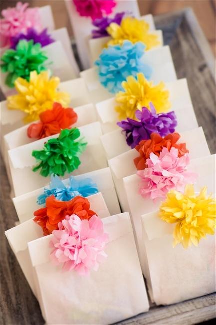 papier bloemen zakjes DIY doopsuiker inspiratie lente zomer baby kindjes xantifee