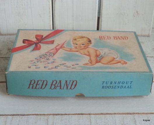 karton doopsuiker verpakking vintage xantifee