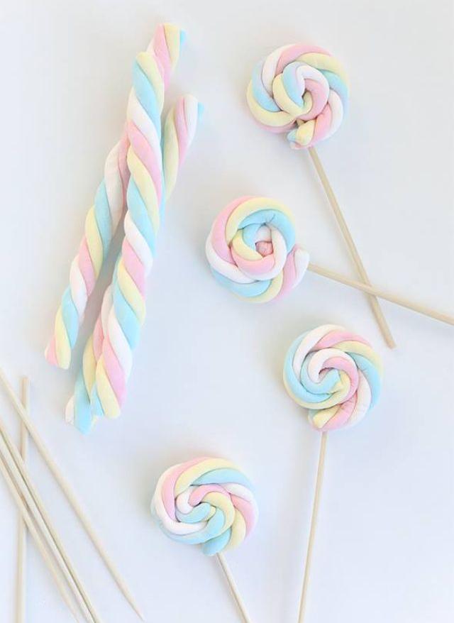 Maak snel leuke lolly pops voor doopsuiker of babyborrel